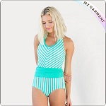 adult-ming-blue-one-piece-swimwear-front-1